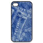 iphone 4s case jeans design Custom Case for iPhone 4,4S