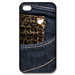 iphone 4s case jeans gift Custom Case for iPhone 4,4S