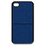 iphone 4s case jeans print Custom Case for iPhone 4,4S