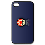 iphone 4s cases super mario mushroom Custom Case for iPhone 4,4S