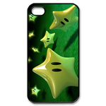 iphone 4s cases super mario stars Custom Case for iPhone 4,4S
