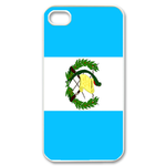 Flag of Guatemala Custom iPhone 4,4S Case Custom Case for iPhone 4,4S