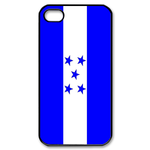 Flag of Honduras Custom iPhone 4,4S Case Custom Case for iPhone 4,4S