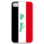 Flag of Iraq Custom iPhone 4,4S Case Custom Case for iPhone 4,4S