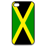 Flag of Jamaica Custom iPhone 4,4S Case Custom Case for iPhone 4,4S