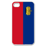 Flag of Liechtenstein Custom iPhone 4,4S Case Custom Case for iPhone 4,4S