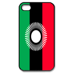 Flag of Malawi Custom iPhone 4,4S Case Custom Case for iPhone 4,4S