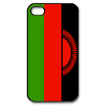 Flag of Malawi Design Custom iPhone 4,4S Case Custom Case for iPhone 4,4S