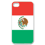 Flag of Mexico Custom iPhone 4,4S Case Custom Case for iPhone 4,4S