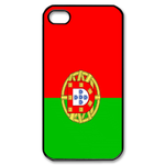 Flag of Portugal Custom iPhone 4,4S Case Custom Case for iPhone 4,4S