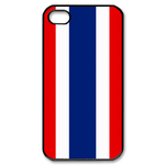 Flag of Thailand Custom iPhone 4,4S Case Custom Case for iPhone 4,4S