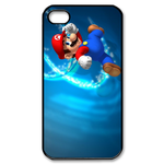 iphone 4s cases handsome super mario Custom Case for iPhone 4,4S  