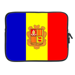 ipad 2 sleeve flag of Andorra Two Sides Sleeve for Ipad 2