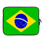 ipad 2 sleeve flag of  Brazil Two Sides Sleeve for Ipad 2