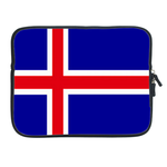 ipad 2 sleeve flag of  Iceland Two Sides Sleeve for Ipad 2