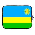 ipad 2 sleeve flag of  Rwanda Two Sides Sleeve for Ipad 2