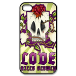 Ed hardy Skull Custom iPhone 4,4S Case Custom Case for iPhone 4,4S  