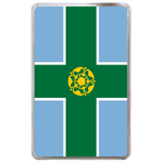 kindle fire case flag of Derbyshire Hard Cover Case for Kindle Fire