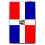 kindle fire case flag of Dominican Republic Hard Cover Case for Kindle Fire