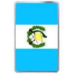 kindle fire case flag of Guatemala Hard Cover Case for Kindle Fire