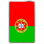 kindle fire case flag of Portugal Hard Cover Case for Kindle Fire