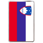 kindle fire case flag of Slovenia Hard Cover Case for Kindle Fire