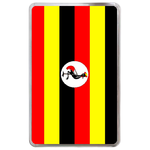 kindle fire case flag of Uganda Hard Cover Case for Kindle Fire