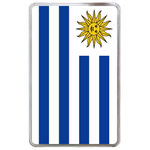 kindle fire case flag of Uruguay Hard Cover Case for Kindle Fire