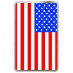kindle fire case flag of USA Hard Cover Case for Kindle Fire