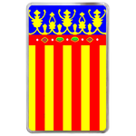 kindle fire case flag of Valencia Hard Cover Case for Kindle Fire