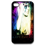 lady gaga just dance iphone 4 case Custom Case for iPhone 4,4S