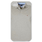White Polo Shirt Custom iPhone 4,4S Case Custom Case for iPhone 4,4S