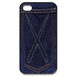 iphone 4s case pocket jeans design Custom Case for iPhone 4,4S