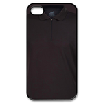 All-Black Polo Shirt Style Custom iPhone 4,4S Case Custom Case for iPhone 4,4S
