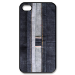 iphone 4s case unique black jeans gift Custom Case for iPhone 4,4S