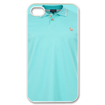 Unique Light Polo Shirt Custom iPhone 4,4S Case Custom Case for iPhone 4,4S