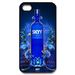 iphone 4s cases blue vodka Custom Case for iPhone 4,4S