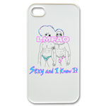 LMFAO Sexy white Custom Case for iPhone 4,4S