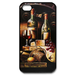 iphone 4s cases grapes and red wine Custom Case for iPhone 4,4S