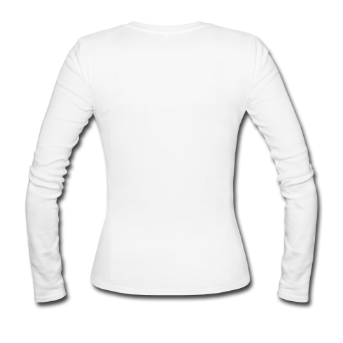 Women s white long sleeve shirt anger maid women s long sleeve shirt