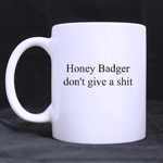 Honey Badger classic mug Custom White Mug