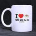 I love Coffee Classic Mug Custom White Mug