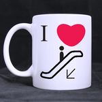 i love slides classic mug Custom White Mug