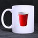 red solo cup classic mug Custom White Mug