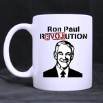 Ron Paul Revolution classic mug Custom White Mug