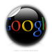 "Round Stickers google logo 1.5"" In Diameter Round Sticker"