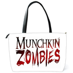 Shoulder Bag white zombie logo Shoulder Bag (two sides)