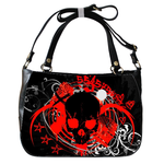 Shoulder Handbag skull head Shoulder Handbag (two sides)