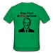 gildan men t shirt green ron paul Men's Custom Gildan T-shirt