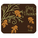 Square Mousepads Give Thanks  Rectangular Mousepad
